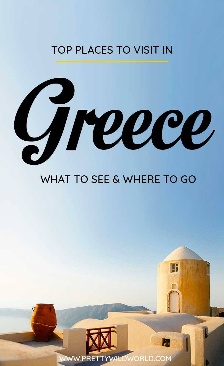 Planning a trip to Greece soon? Check out this awesome guide on the best places to visit in Greece including the when is the best time to visit Greece, how to travel to Greece, where to stay in Greece, how to get around Greece, where to stay in [country], things to do in Greece, what to do in Greece, best attractions in Greece, and the best Greece points of interests. Save this Greece travel guide to your travel board so you can find it later! #Greece #GreeceTravel #Travel #Europe