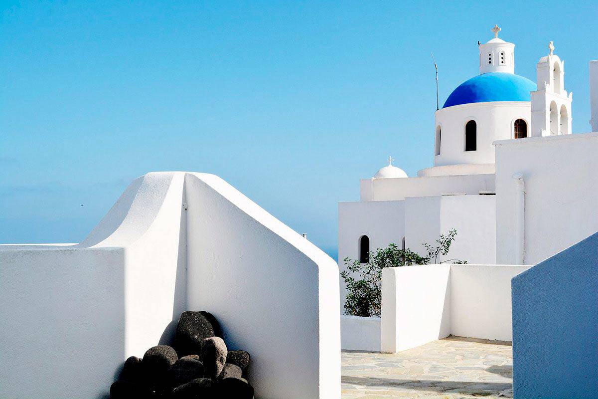 Santorini is one of the best Greece tourist spots