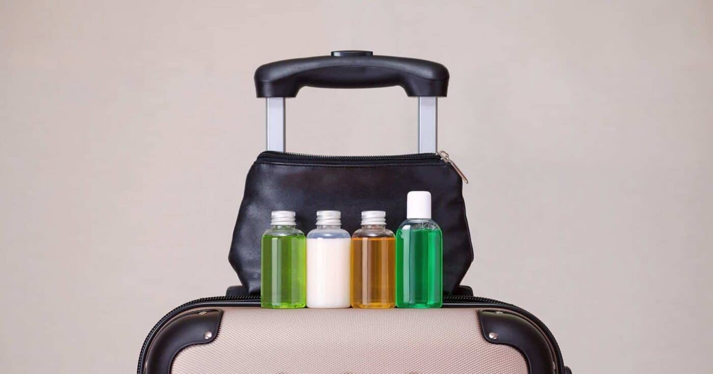 best travel toiletry bag featured