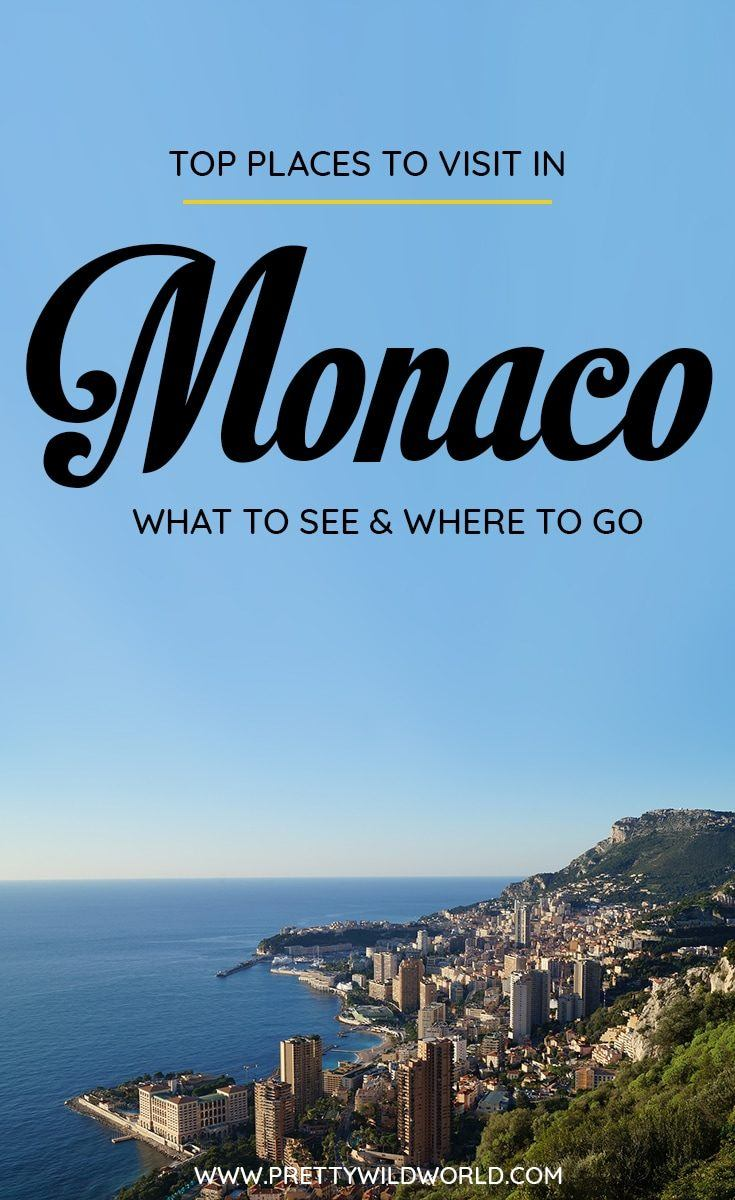 Planning a trip to Monaco soon? Check out this awesome guide on the best places to visit in Monaco including the when is the best time to visit Monaco, how to travel to Monaco, where to stay in Monaco, how to get around Monaco, where to stay in Monaco, things to do in Monaco, what to do in Monaco, best attractions in Monaco, and the best Monaco points of interests. Save this Monaco travel guide to your travel board so you can find it later! #Monaco #MonacoTravel #Travel #Europe