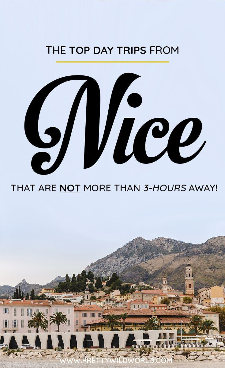 Are you planning to visit Nice soon? Do you know that there are a lot of day trips from Nice you can do? In this post you'll learn about the top Nice day trips, things to do in Nice, how to spend your time in Nice, learn about Nice secrets and its surrounding areas. Save this Nice travel guide to your travel board so you'll find it easy later! #Nice #Nice #france #Daytrips #Travel