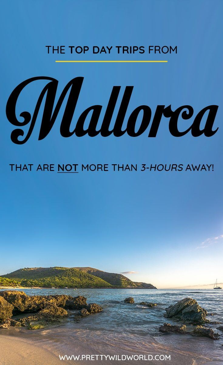 Are you planning to visit Mallorca soon? Do you know that there are a lot of day trips from Mallorca you can do? In this post you'll learn about the top Mallorca day trips, things to do in Mallorca, how to spend your time in Mallorca, learn about Mallorca secrets and its surrounding areas. Save this Mallorca travel guide to your travel board so you'll find it easy later! #Mallorca #Mallorca #europe #Daytrips #Travel