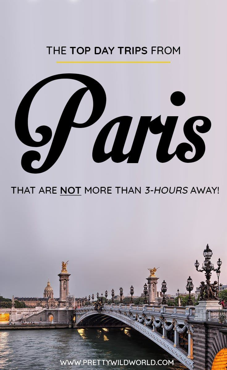 Are you planning to visit Paris soon? Do you know that there are a lot of day trips from Paris you can do? In this post you'll learn about the top Paris day trips, things to do in Paris, how to spend your time in Paris, learn about Paris secrets and its surrounding areas. Save this Paris travel guide to your travel board so you'll find it easy later! #Paris #Paris #europe #Daytrips #Travel