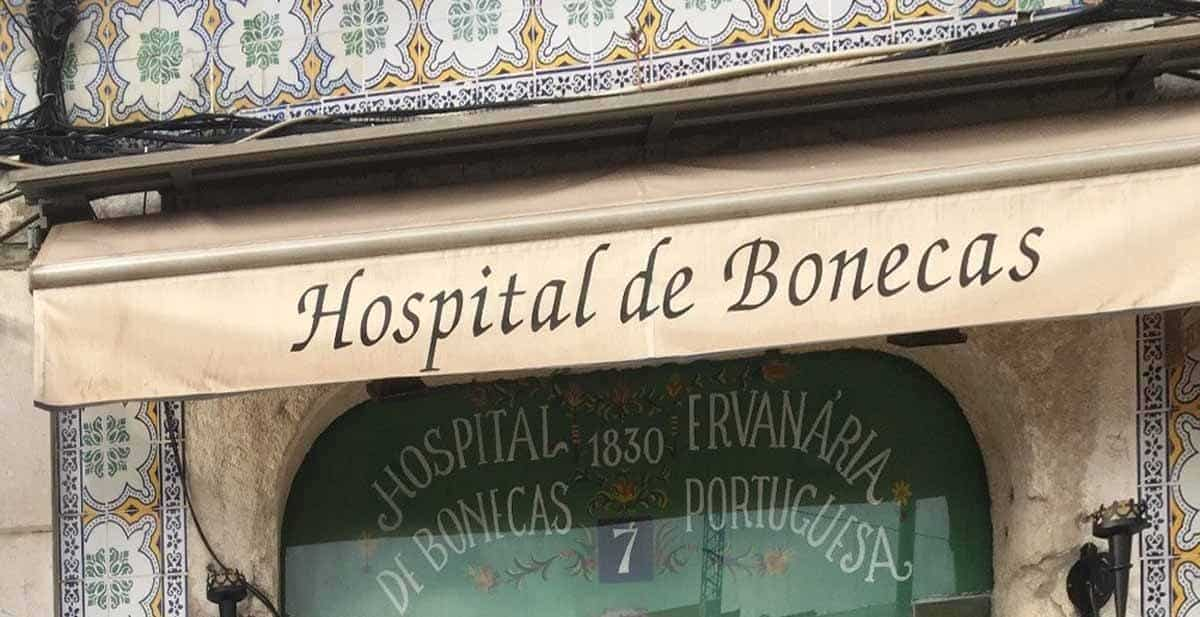 top tourist attractions in lisbon portugal doll hospital