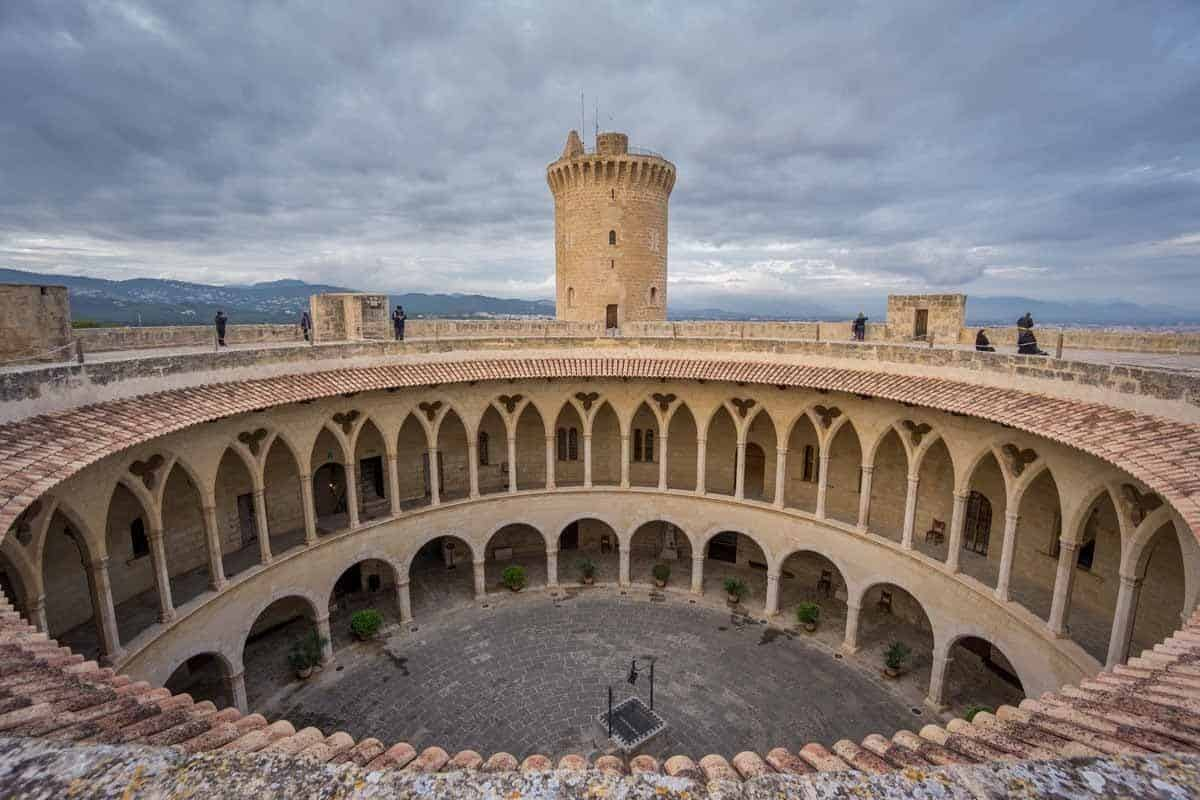 top tourist attractions in mallorca spain bellver castle