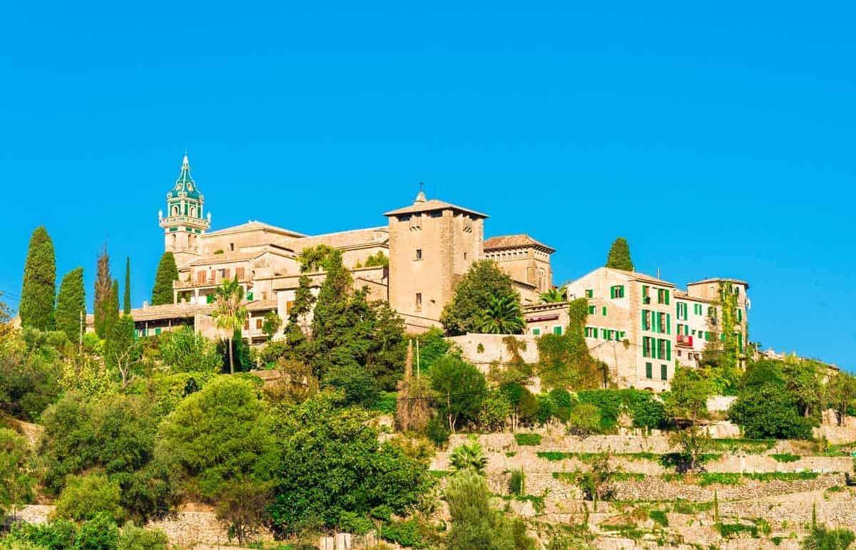 top tourist attractions in mallorca spain la cartuja de valldemossa