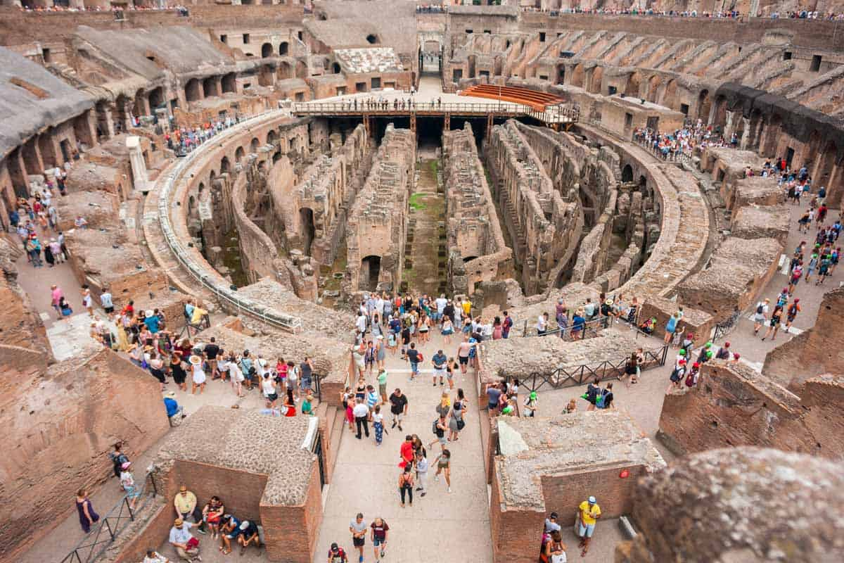 top tourist attractions in rome italy walking tour