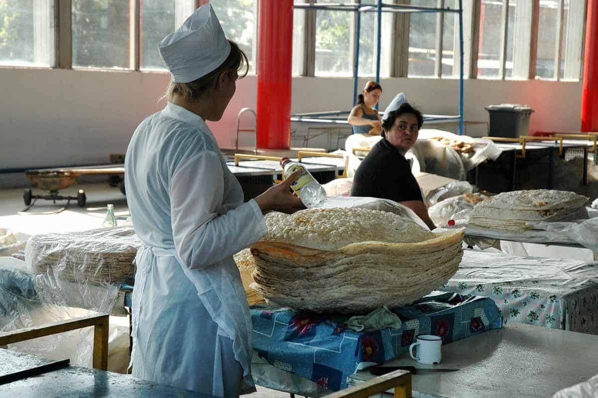 top tourist attractions in yerevan armenia traditional bread