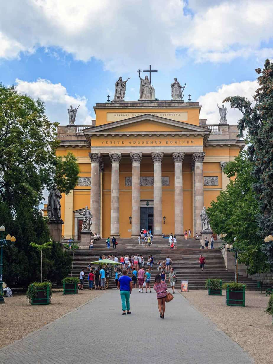 top day trips from budapest hungary eger basilica