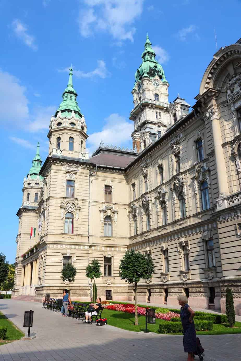 top day trips from budapest hungary gyor town hall
