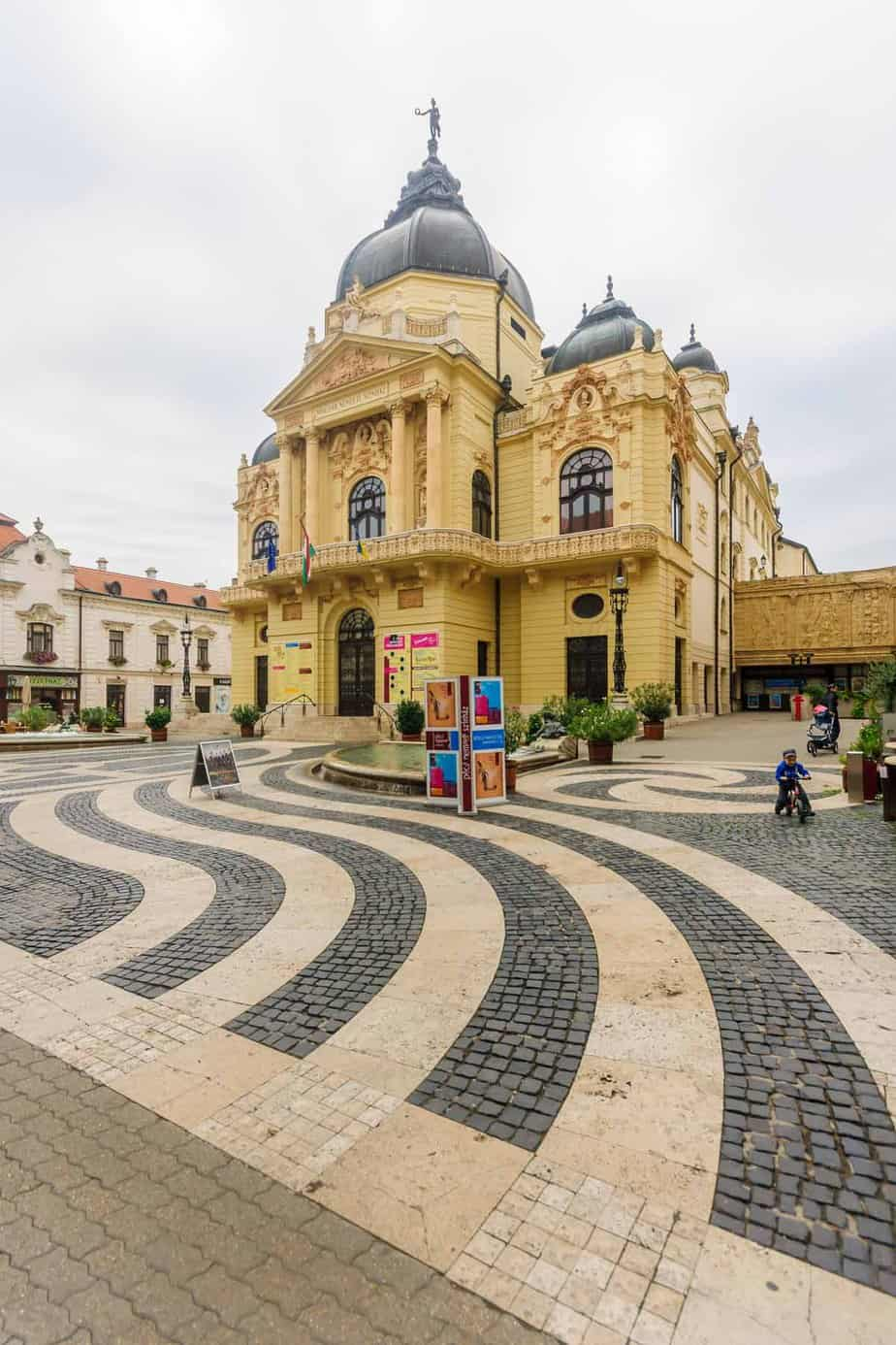 top day trips from budapest hungary pecs national theater