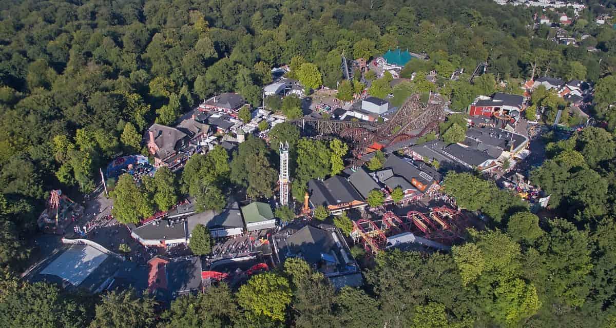 top day trips from copenhagen denmark bakken amusement park
