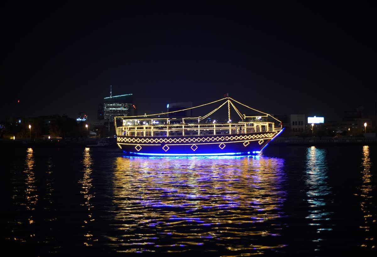 top day trips from dubai uae dhow cruise dinner