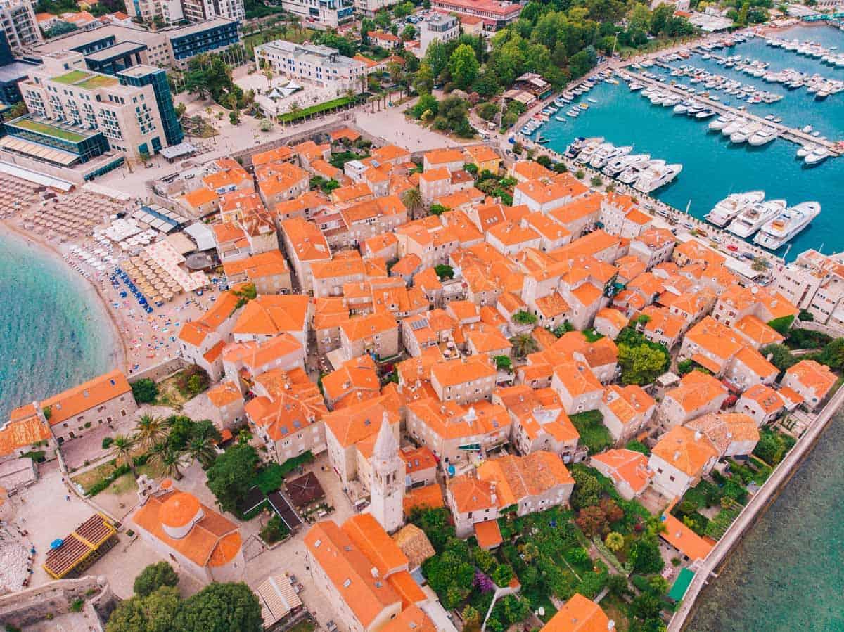 top day trips from dubrovnik croatia budva old town