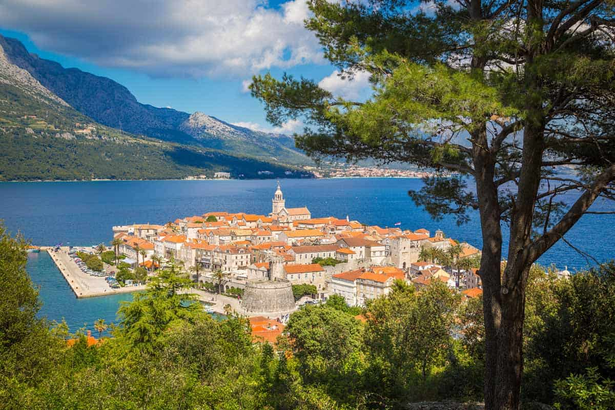 top day trips from dubrovnik croatia korcula old town
