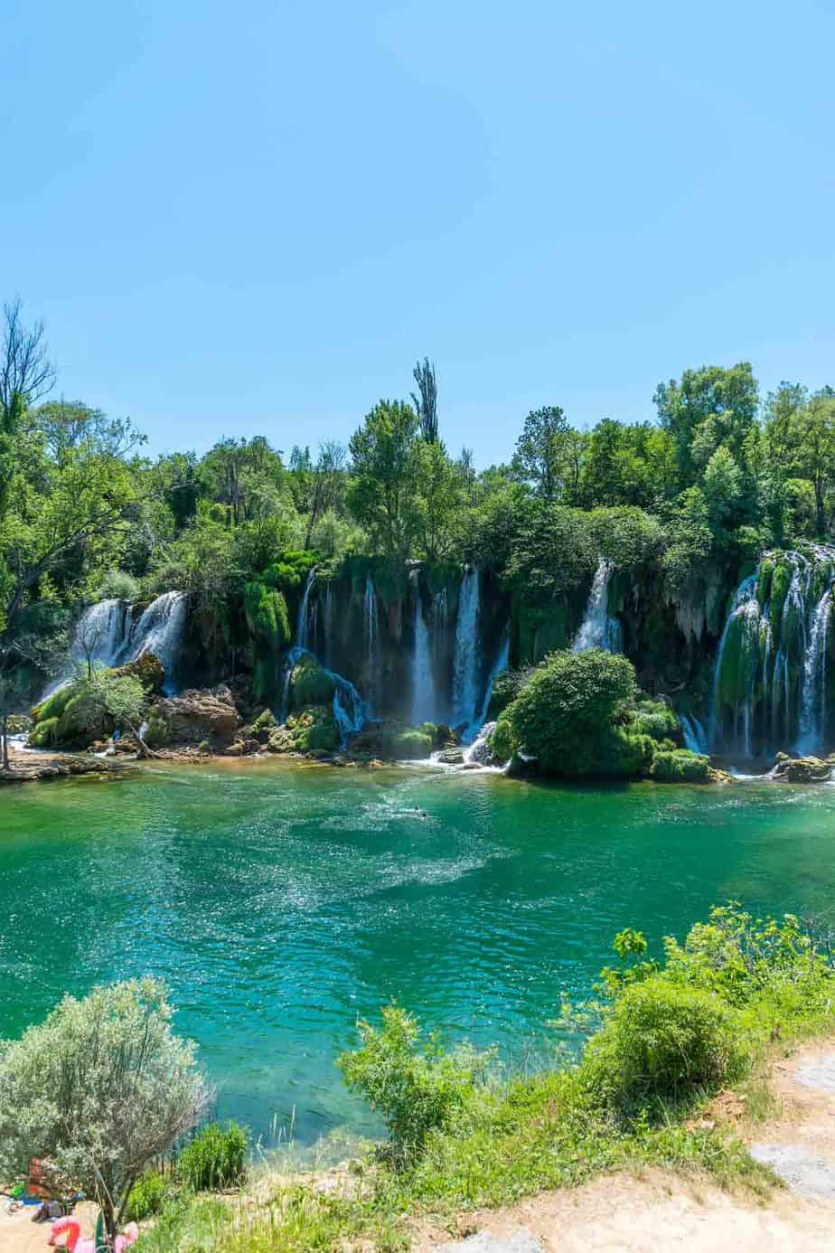 top day trips from dubrovnik croatia kravice waterfalls