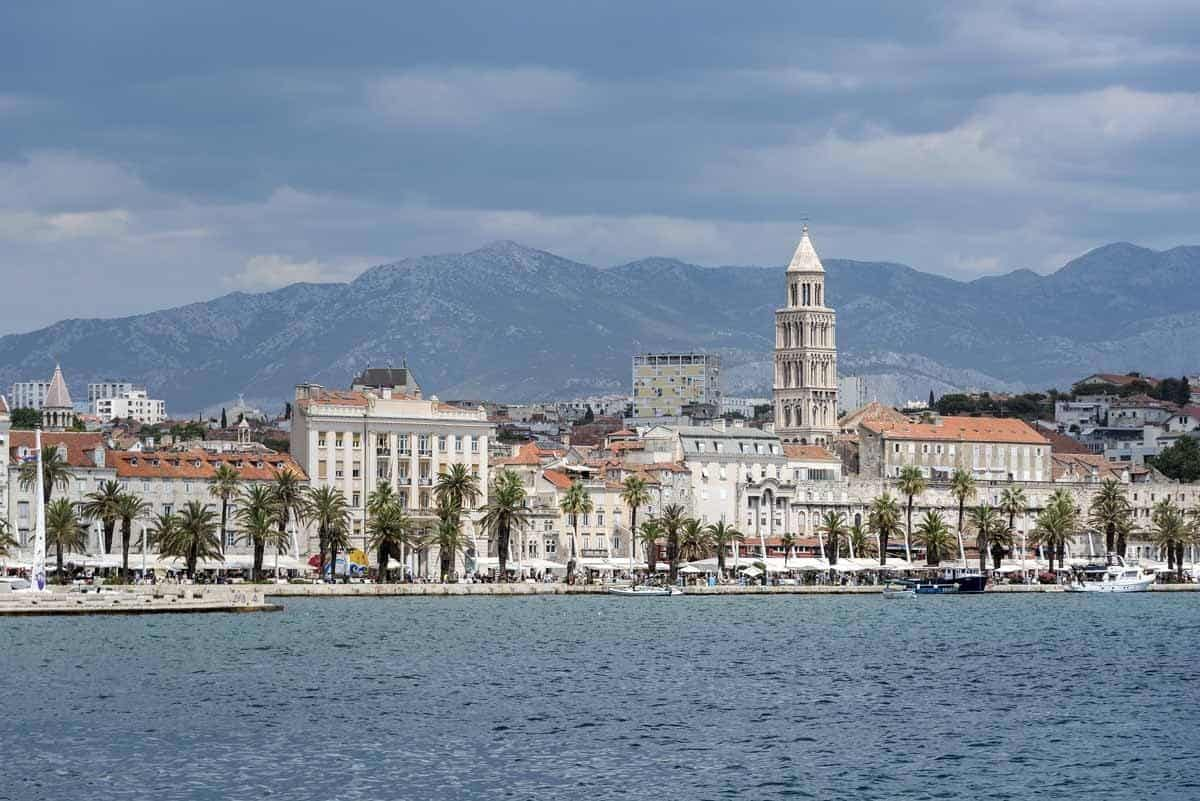 top day trips from dubrovnik croatia split diocletians palace