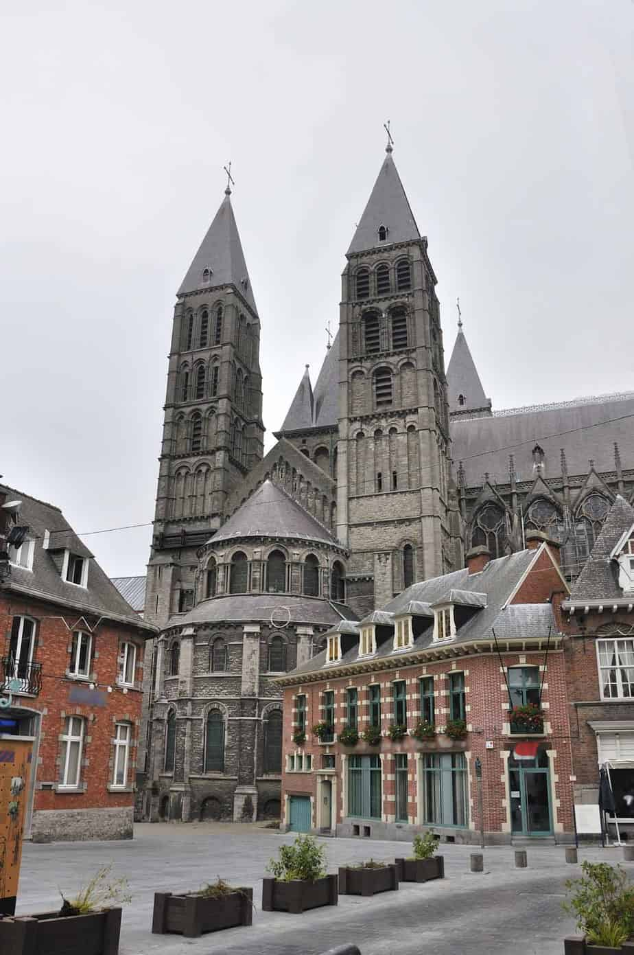 top day trips from ghent belgium tournai cathedral of our lady