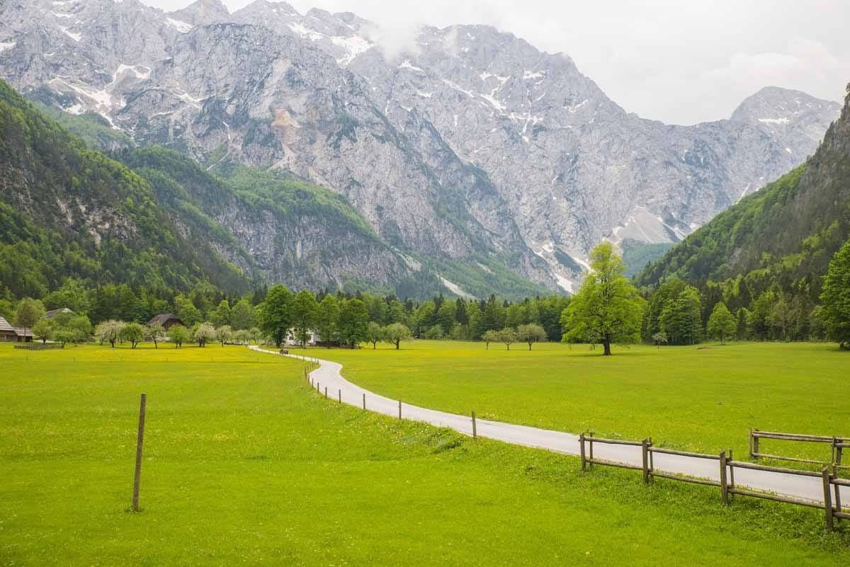 top day trips from ljubljana slovenia logar valley