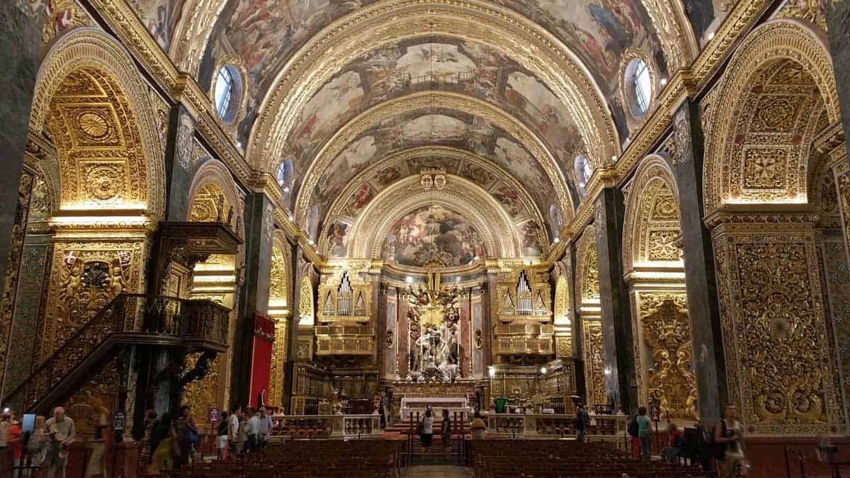top day trips from malta valletta st johns co-cathedral