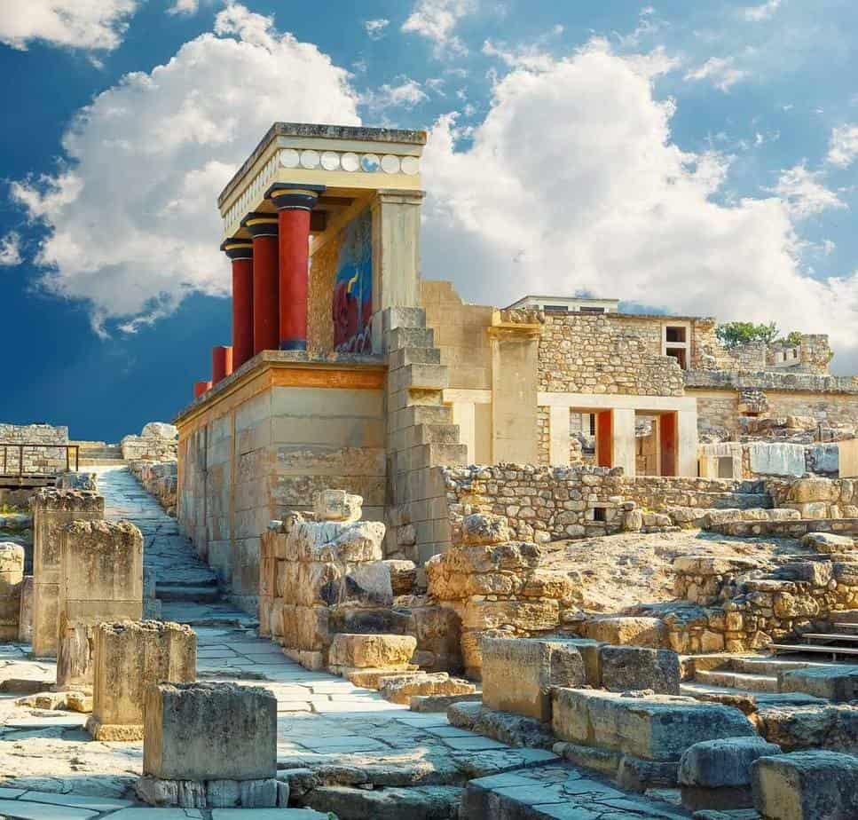 top day trips from santorini greece heraklion knossos palace