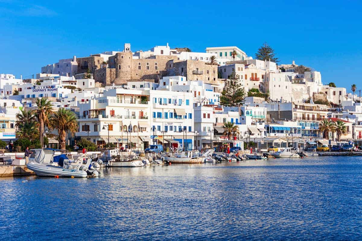 top day trips from santorini greece naxos