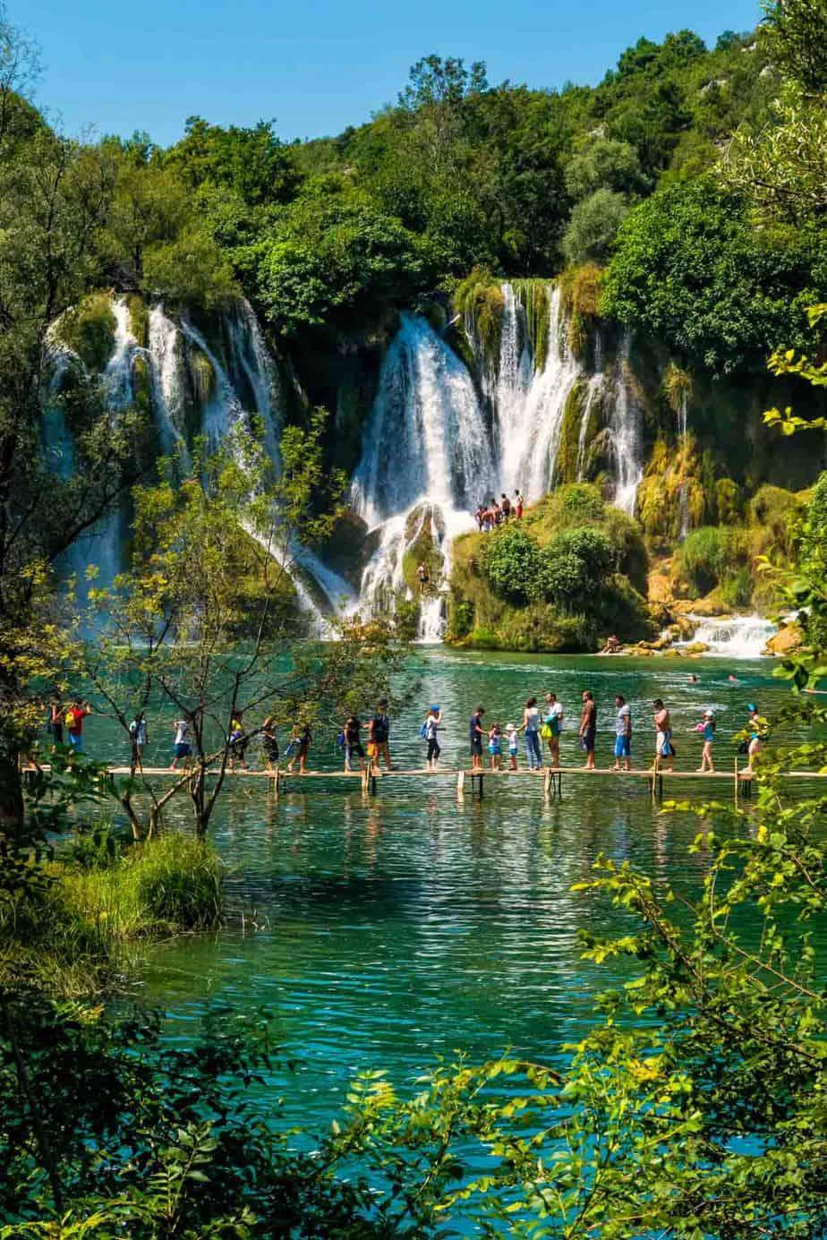 top day trips from sarajevo bosnia and herzegovina kravice waterfalls