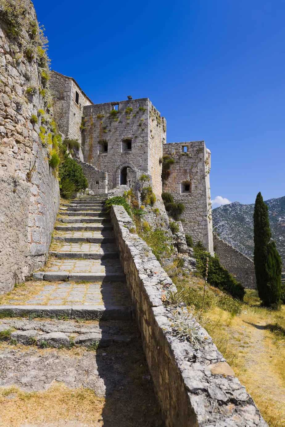 top day trips from split croatia klis fortress