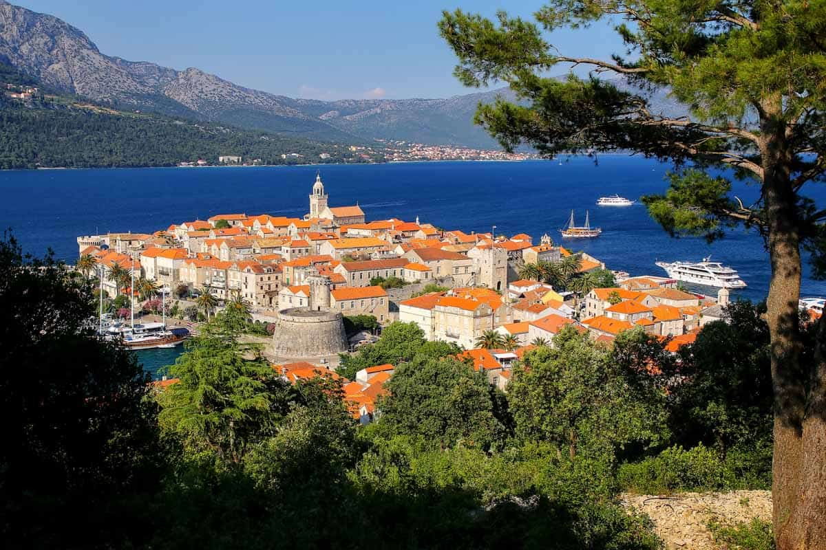 top day trips from split croatia korcula old town