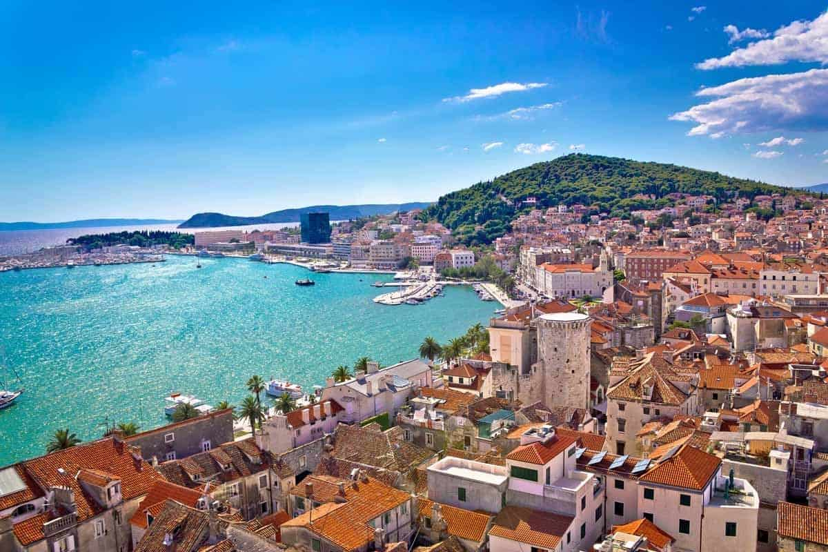 top day trips from split croatia marjan hill