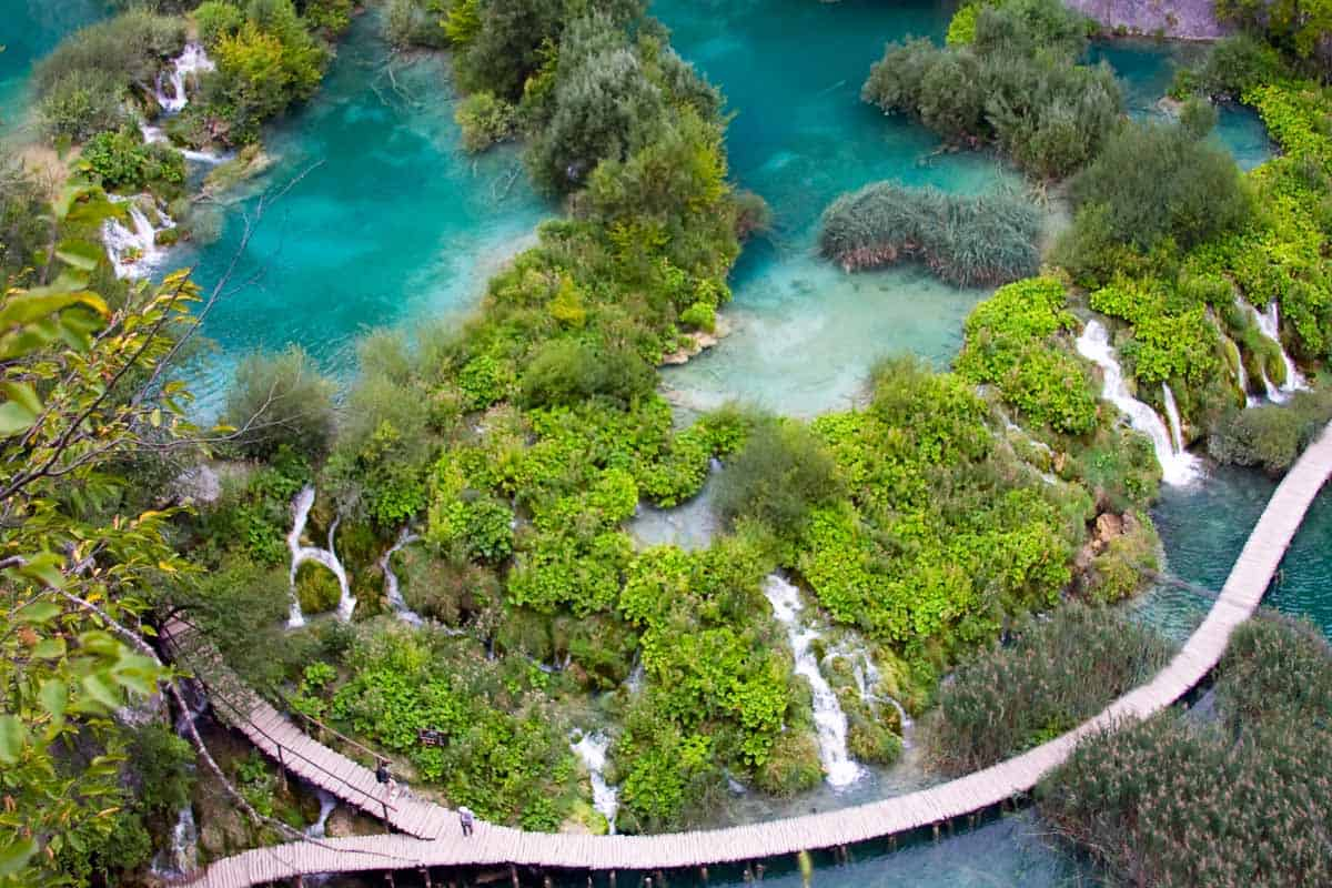 top day trips from split croatia plitvice lakes national park