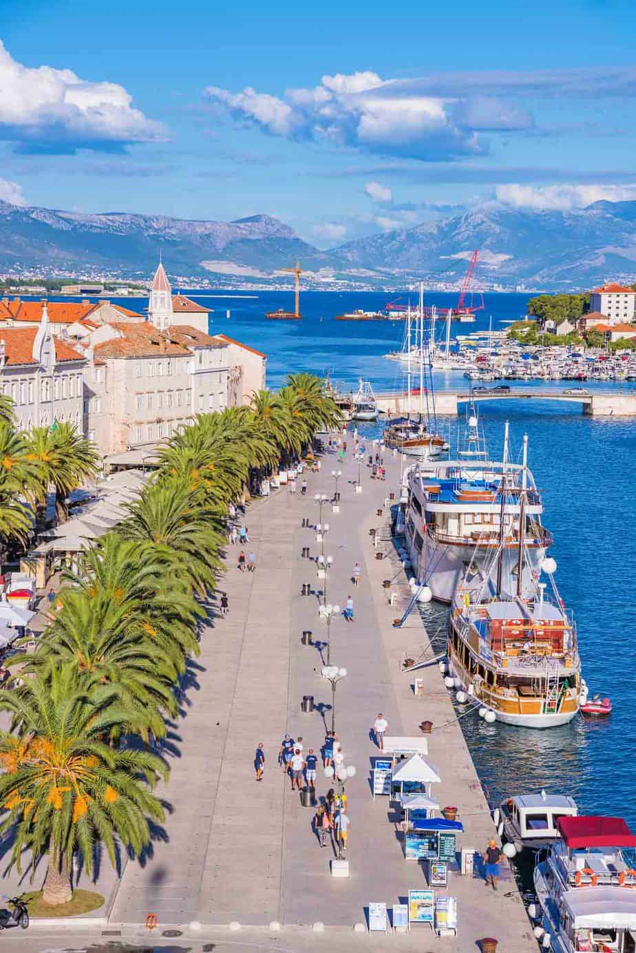 top day trips from split croatia trogir
