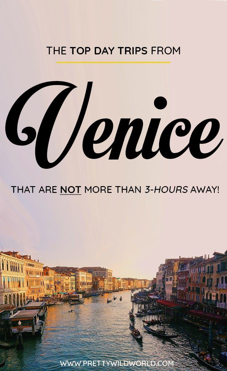 Are you planning to visit Venice soon? Do you know that there are a lot of day trips from Venice you can do? In this post you'll learn about the top Venice day trips, things to do in Venice, how to spend your time in Venice, learn about Venice secrets and its surrounding areas. Save this Venice travel guide to your travel board so you'll find it easy later! #Venice #italy #europe #Daytrips #Travel