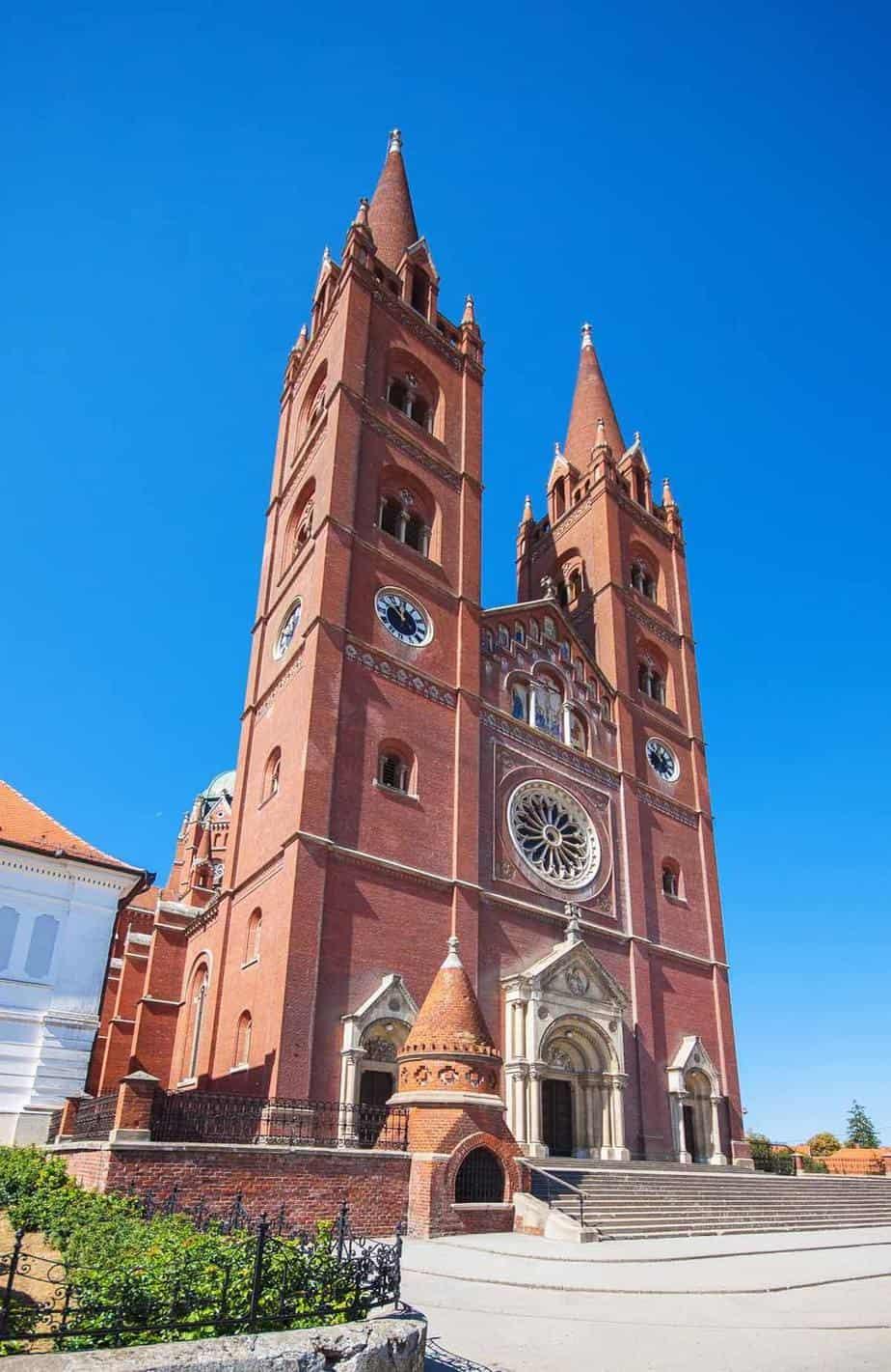 top day trips from zagreb croatia djakovo cathedral