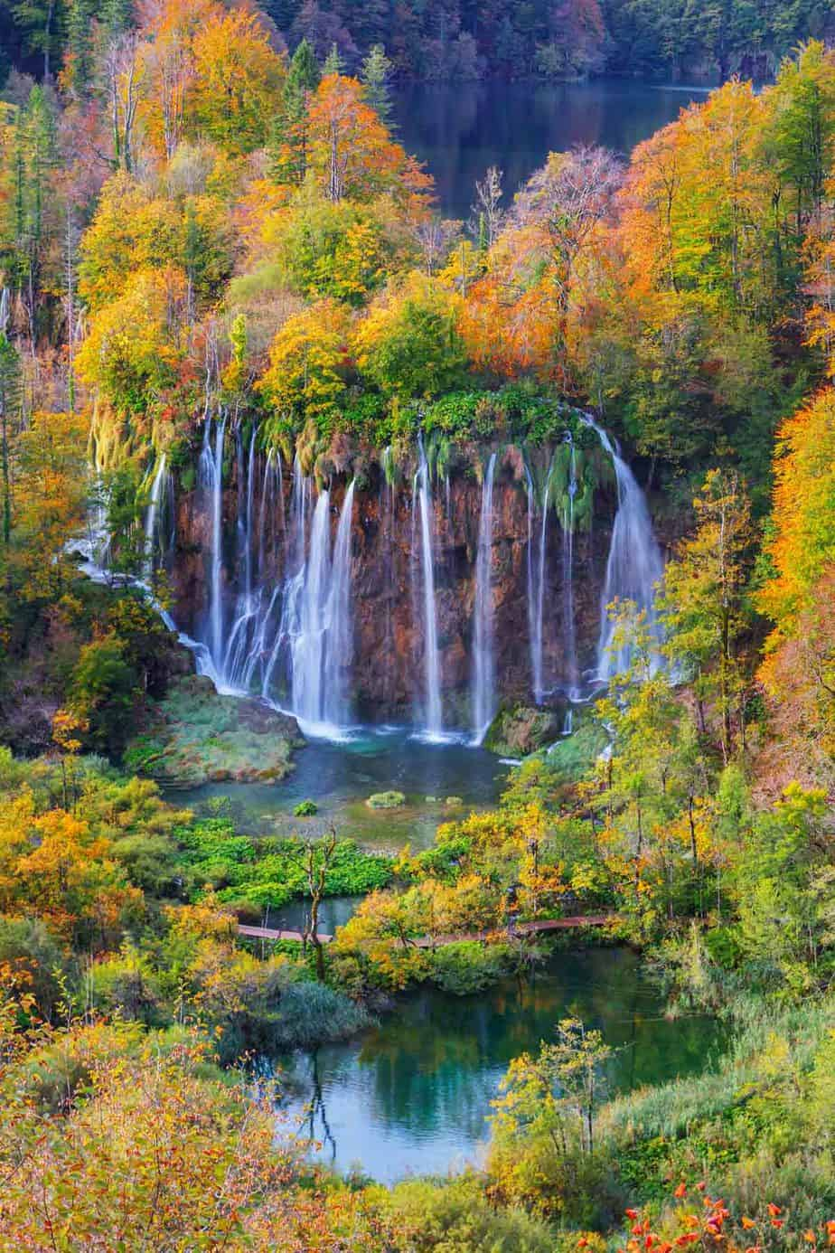 top day trips from zagreb croatia plitvice lakes national park