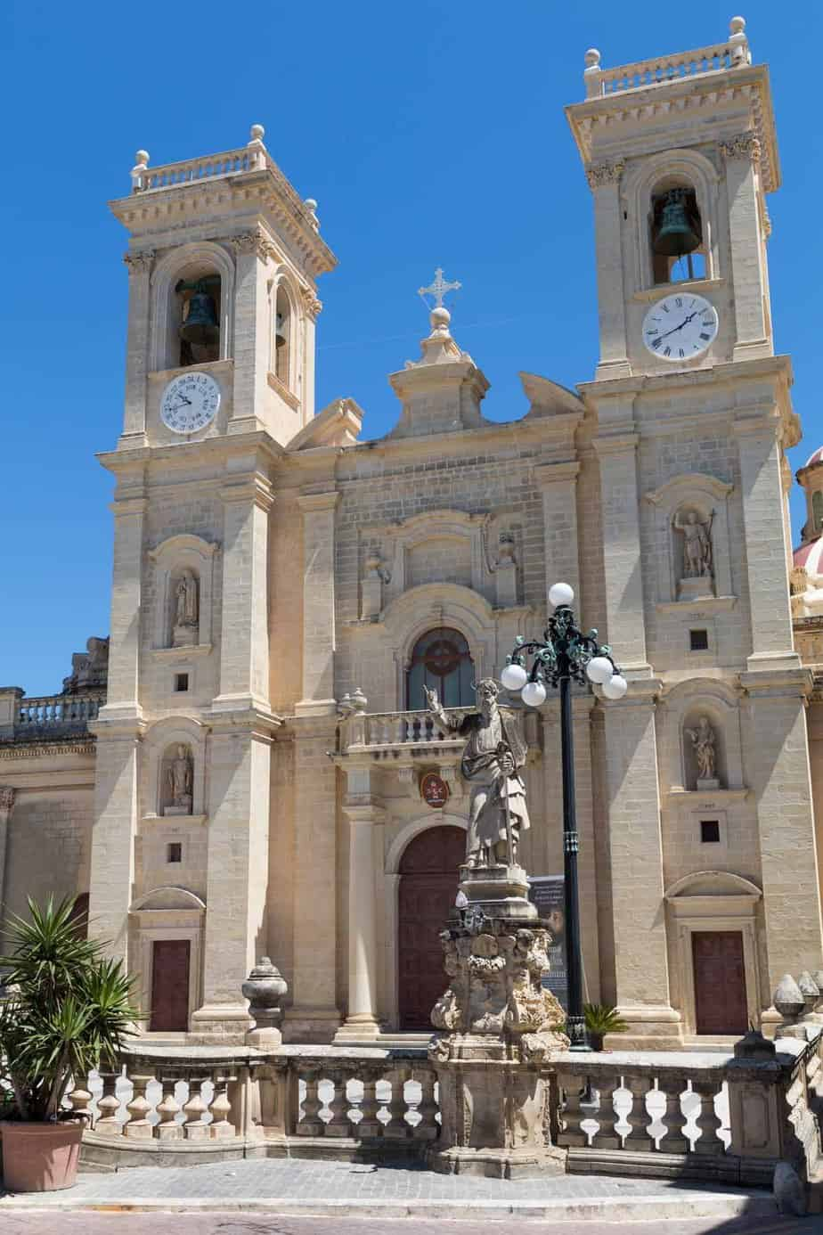 points of interest where to go and places to visit in malta zebbug church