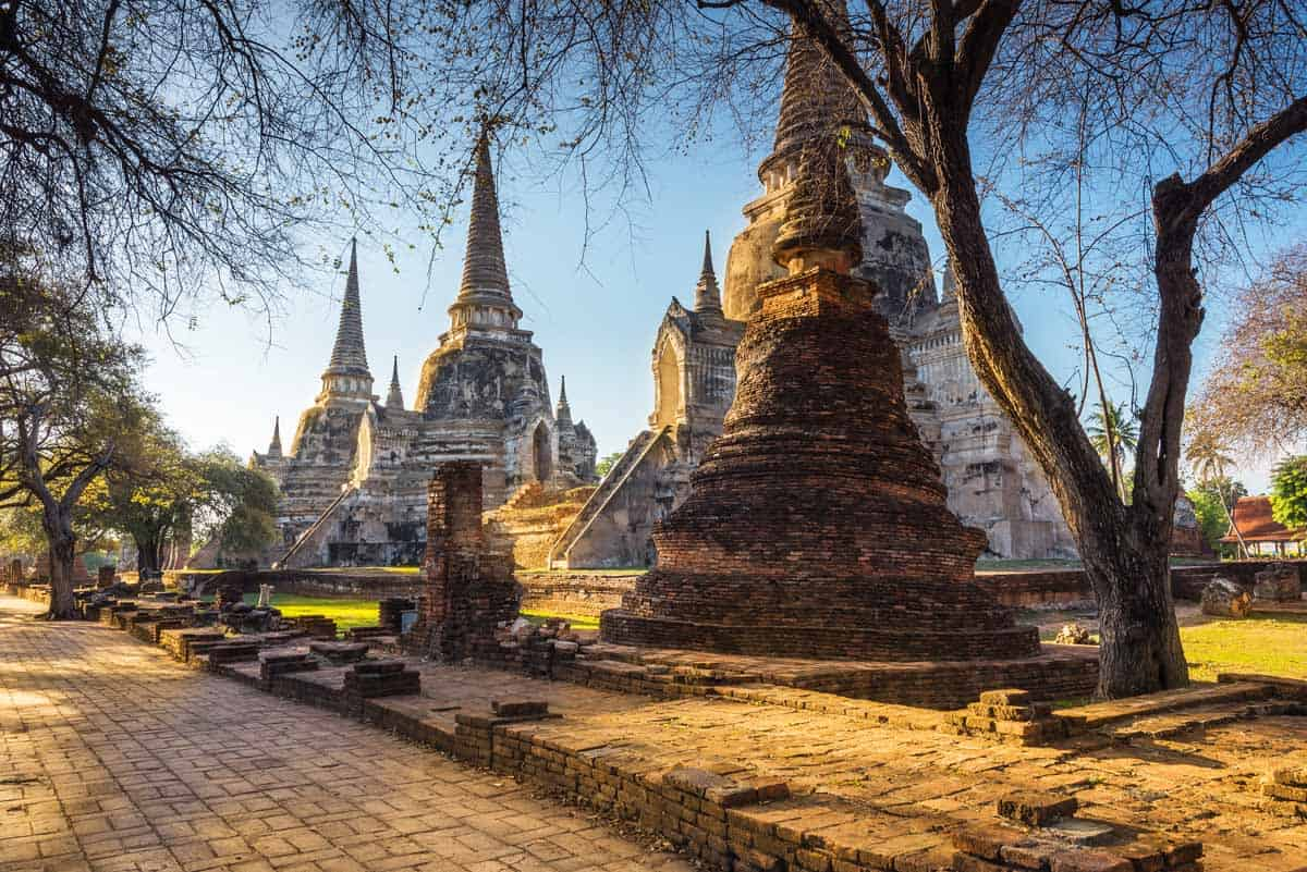 points of interest where to go and places to visit in thailand ayutthaya historical park
