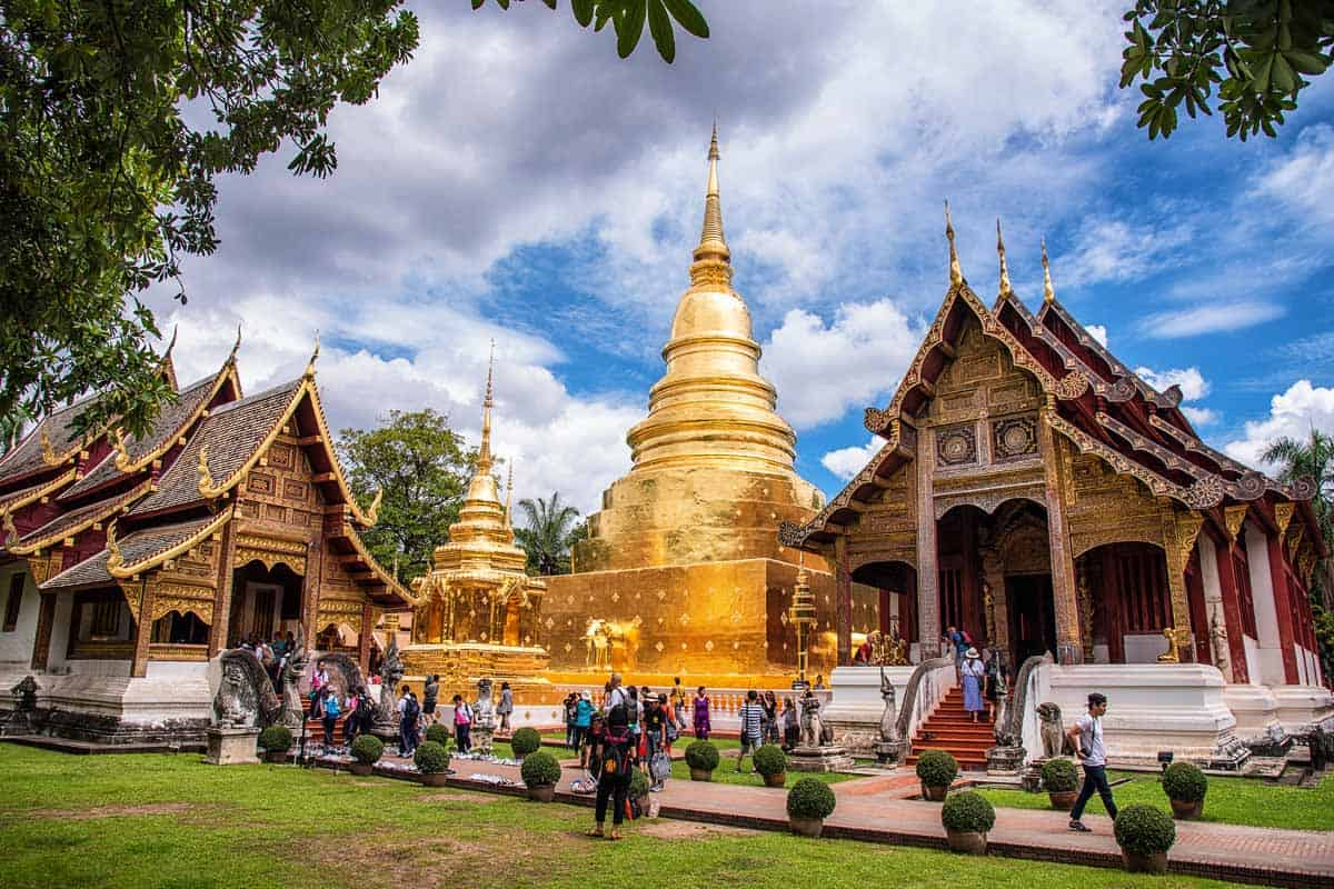 points of interest where to go and places to visit in thailand chiang mai phra singh temple