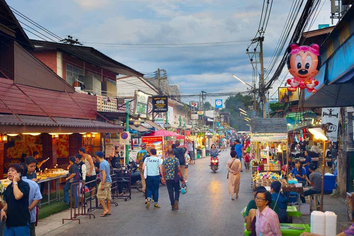 points of interest where to go and places to visit in thailand pai