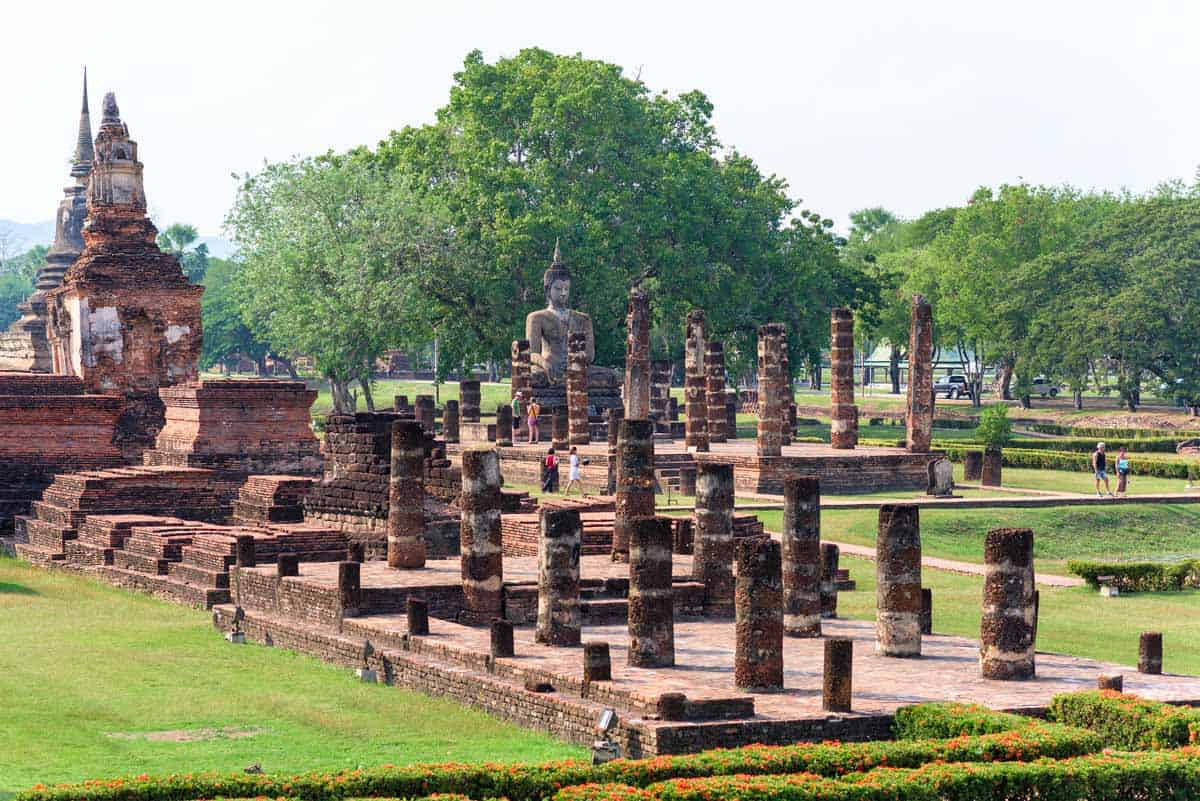 points of interest where to go and places to visit in thailand sukhothai historical park