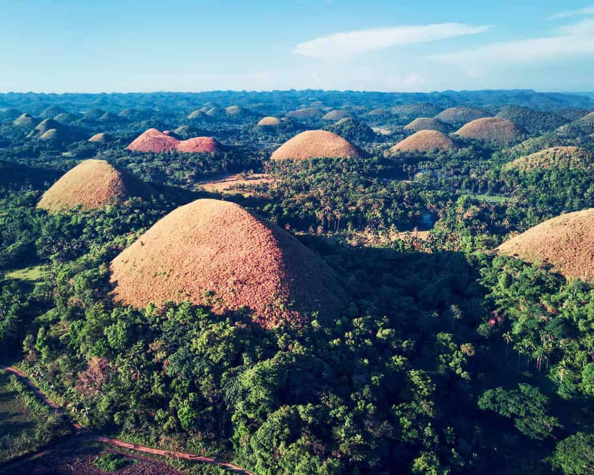 points of interest where to go and places to visit in the philippines bohol chocolate hills