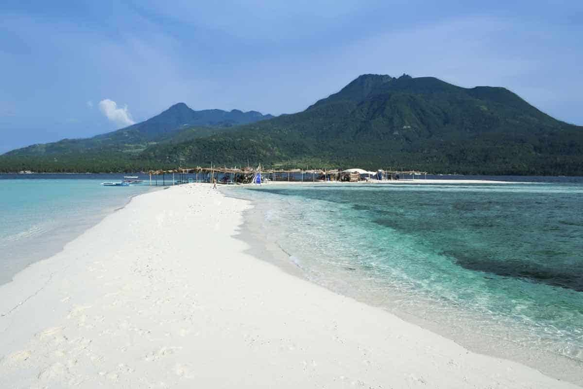 points of interest where to go and places to visit in the philippines camiguin white beach