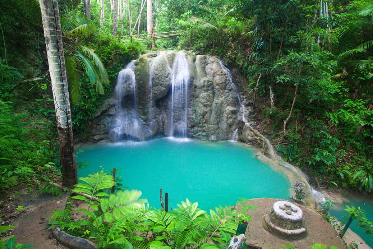 points of interest where to go and places to visit in the philippines siquijor waterfall
