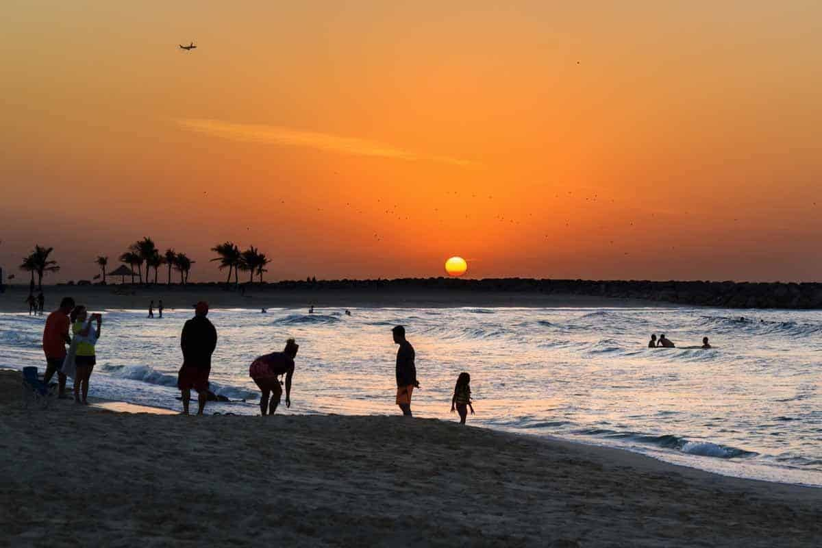 top tourist attractions in dubai uae al mamzar beach park