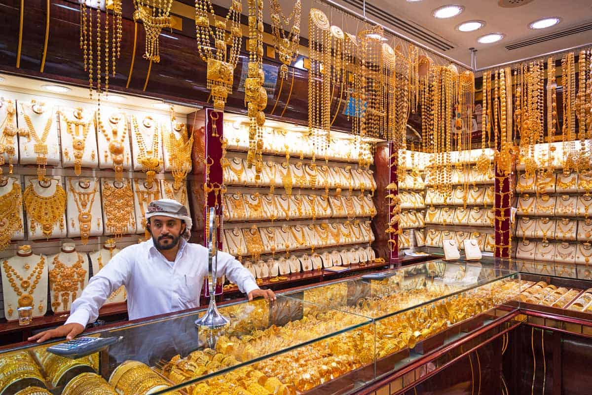 top tourist attractions in dubai uae gold souk