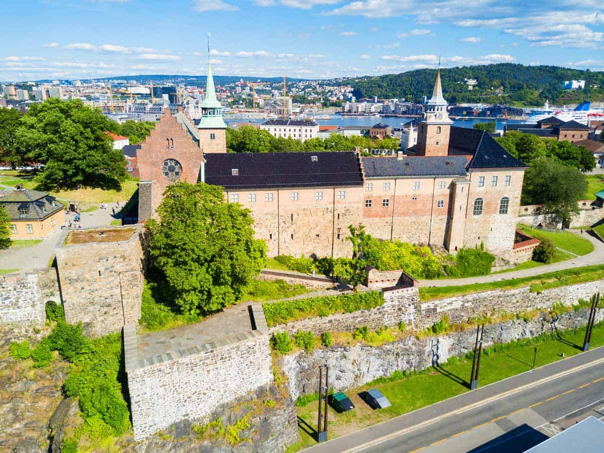 haunted places in europe to visit this halloween akershus festning
