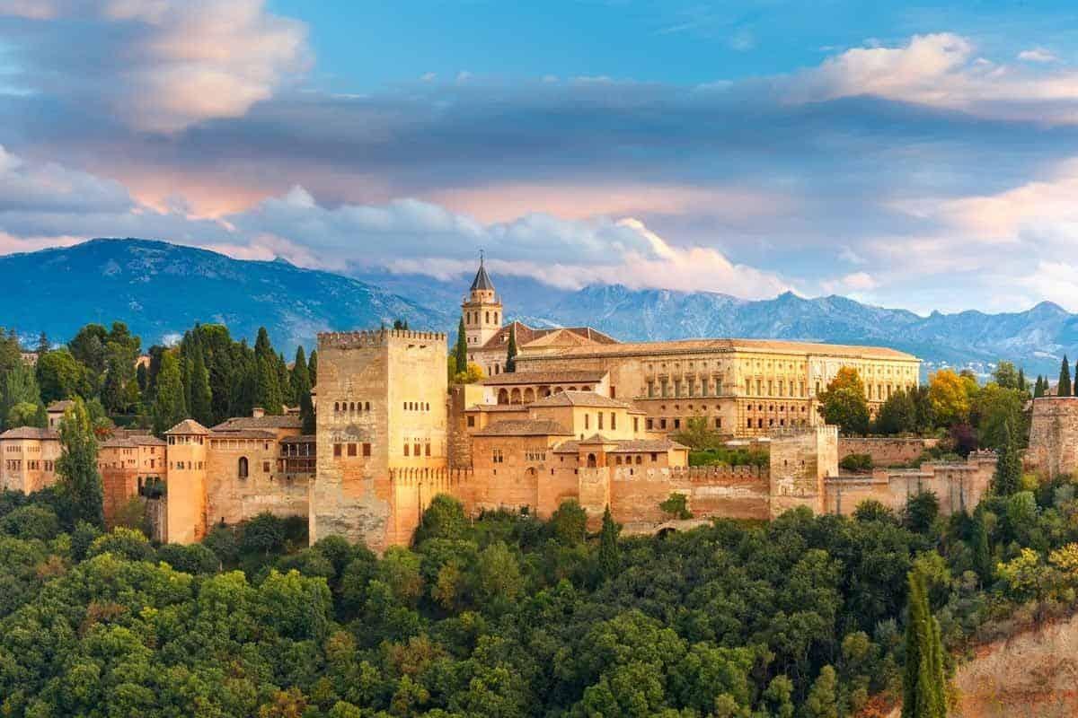 medieval castles in europe Alhambra, Spain