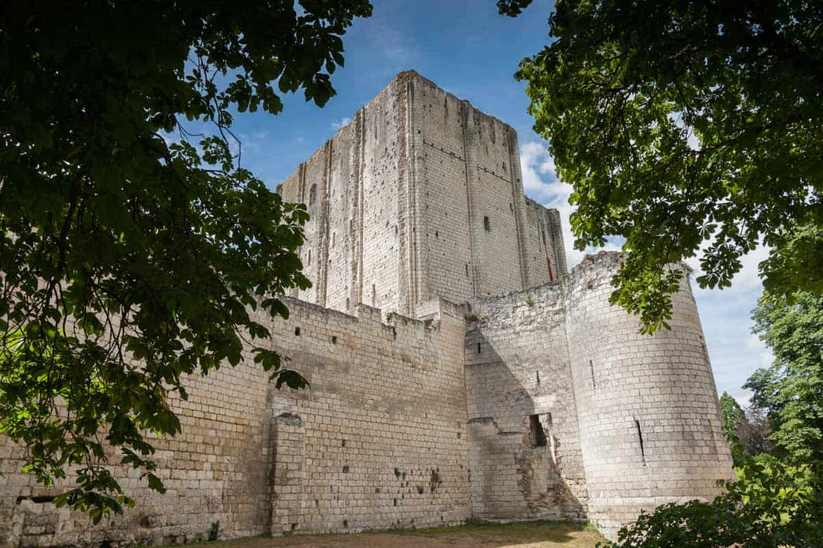 medieval castles in europe Loches, France
