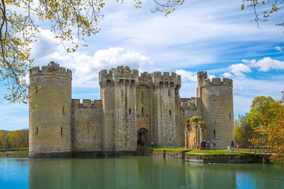 most beautiful fairytale castles in europe bodiam castle england uk