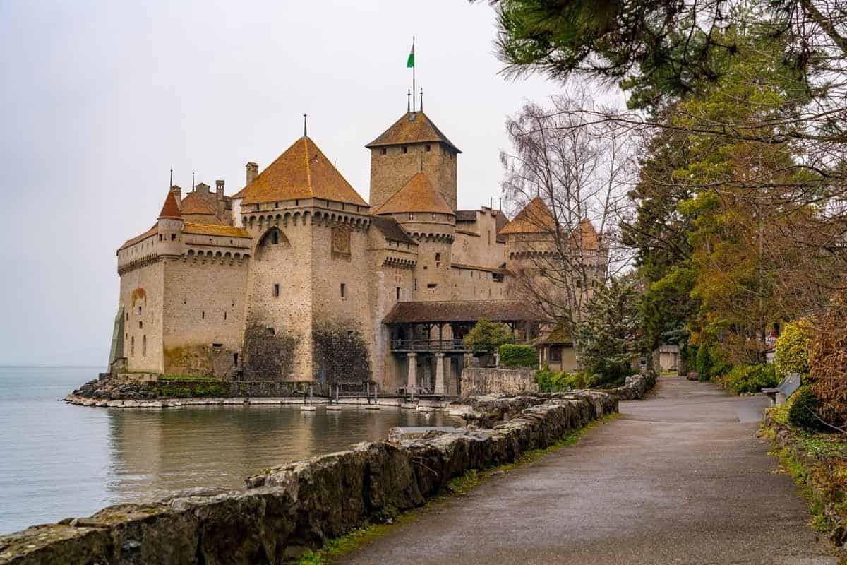 most beautiful fairytale castles in europe chillon castle switzerland